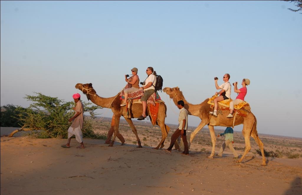 Camel Riding in Jaisalmer