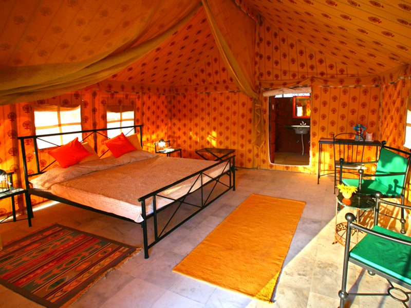 Deluxe-Tent-Interior