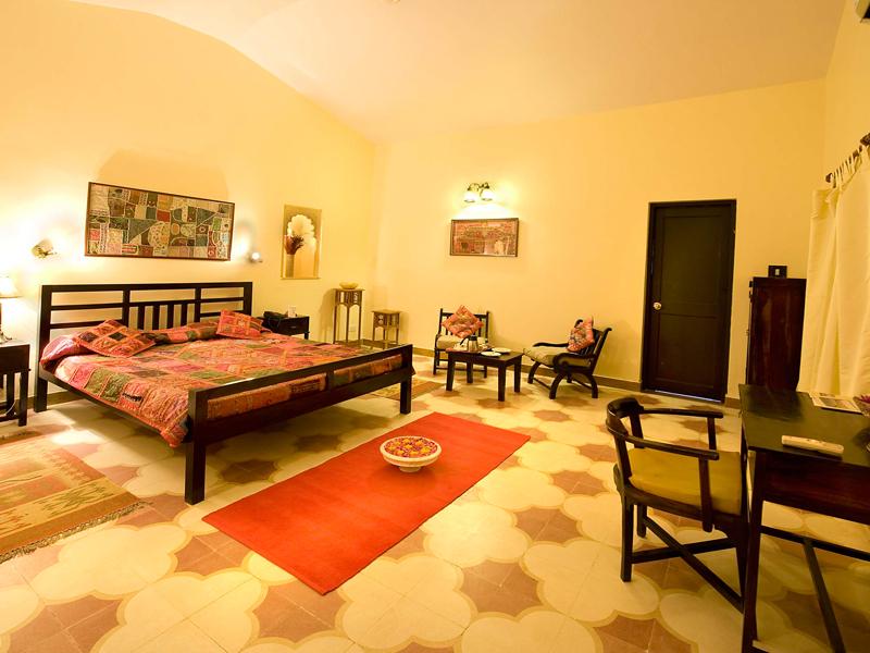 Rooms at Mirvana Nature Resort